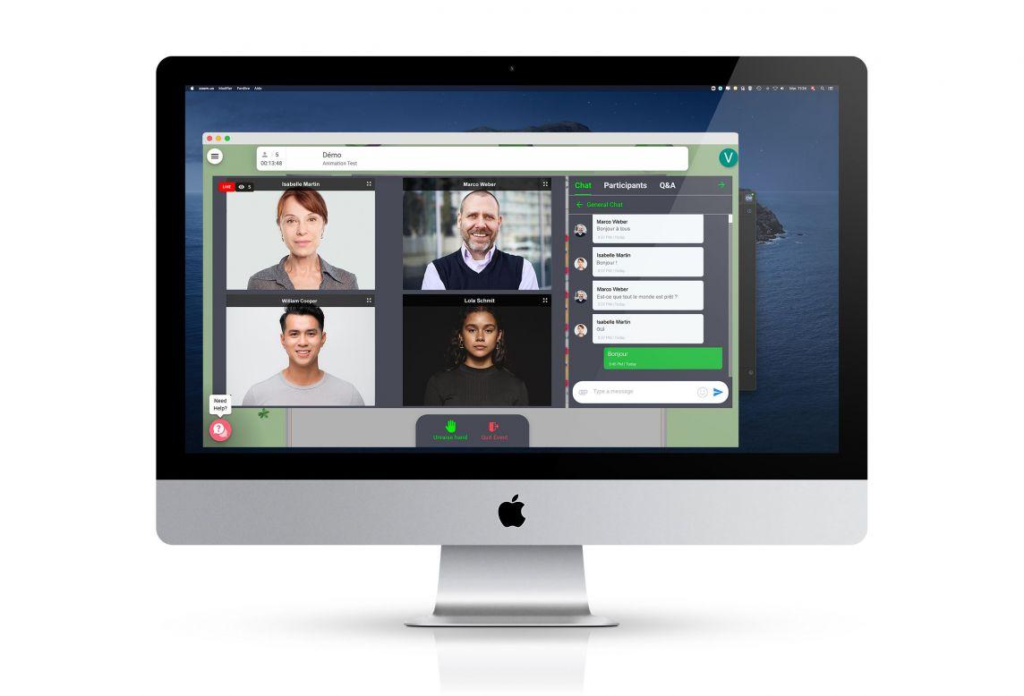 plateforme personnalisable pour événement digital par accentaigu