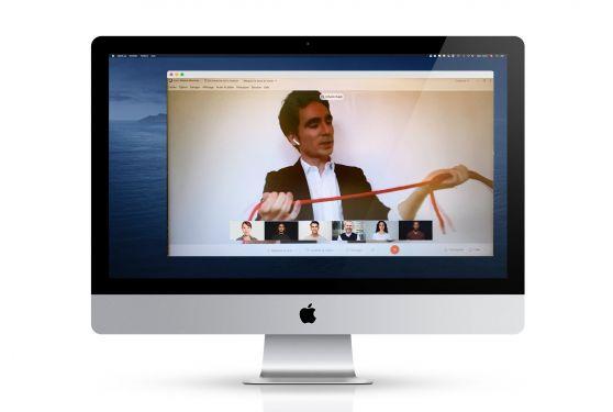 accentaigu événement digital plateforme webex animations musicale et magie johann bayle