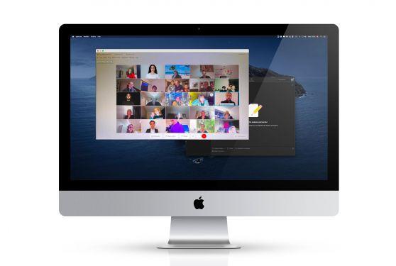 accentaigu événement digital plateforme webex animations musicale et magie