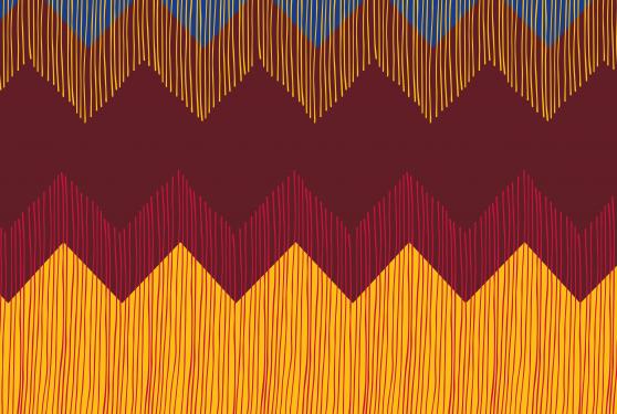 motifs colorés en forme de triangles dessinés à la main fondation dr elvire engels