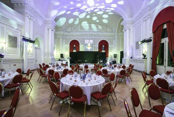 Salle du dîner au Cercle Cité Luxembourg